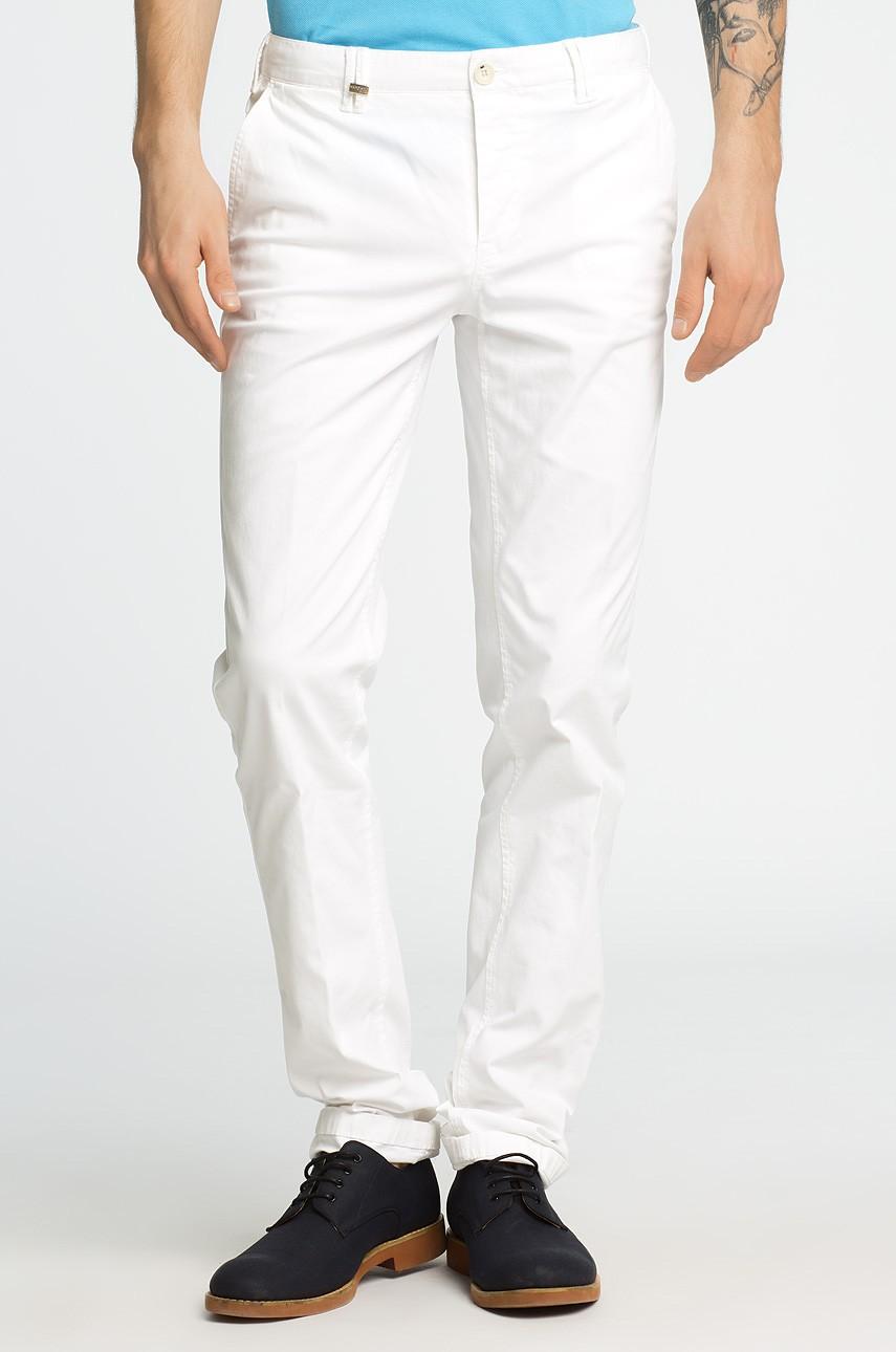 Pantaloni Barbati Marciano Guess Alb 4961-SPM022