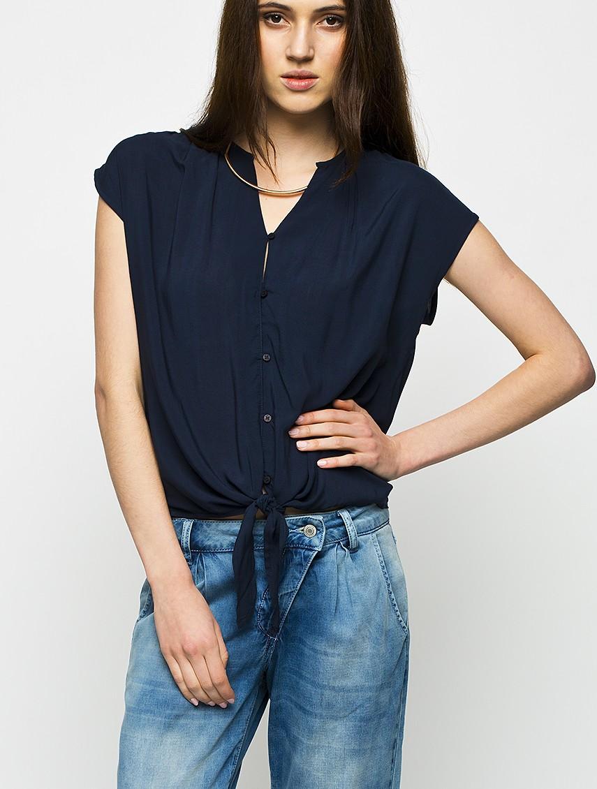Bluza Eleganta Dama MEDICINE Bleumarin -50-BKD300