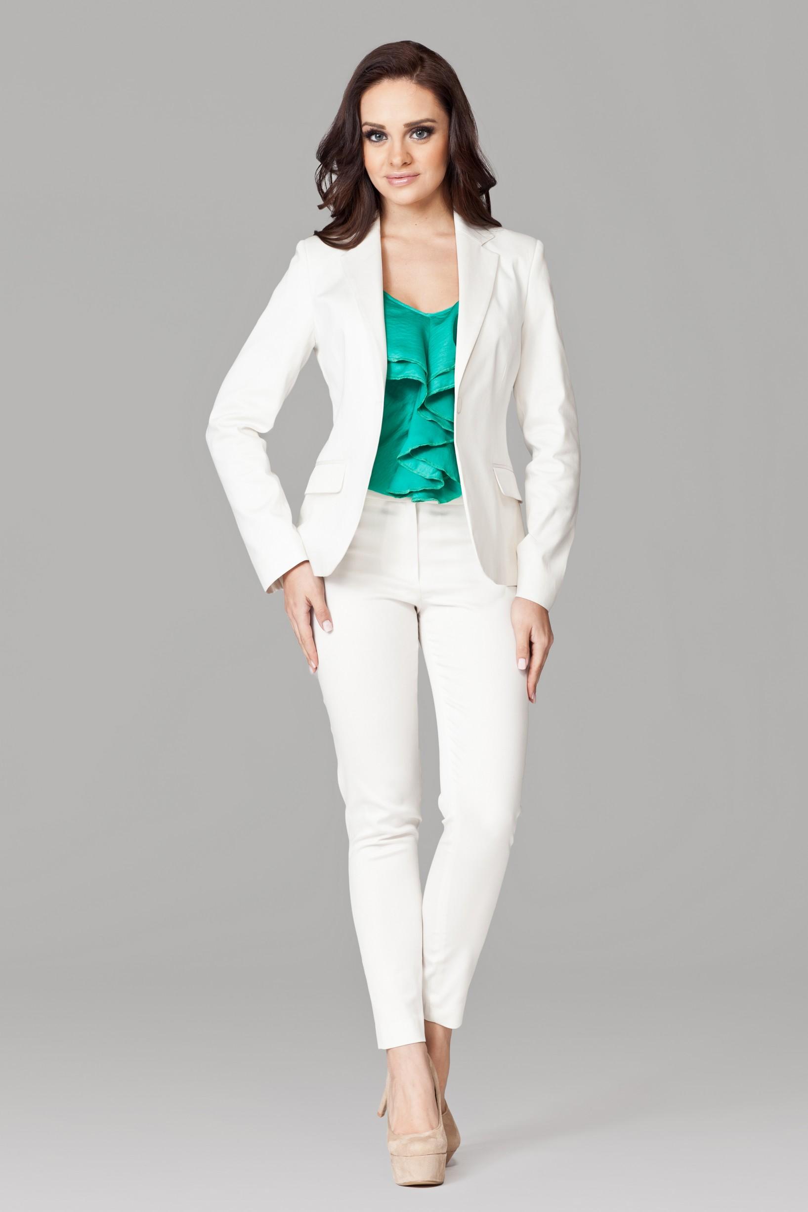 Sacou Dama elegant clasic alb