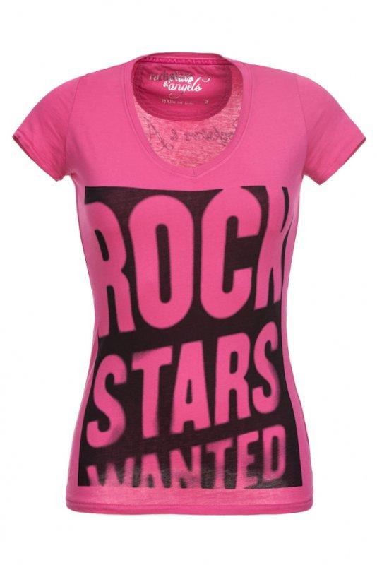 Tricou Rockstars & Angels Roz Rockstars Wanted