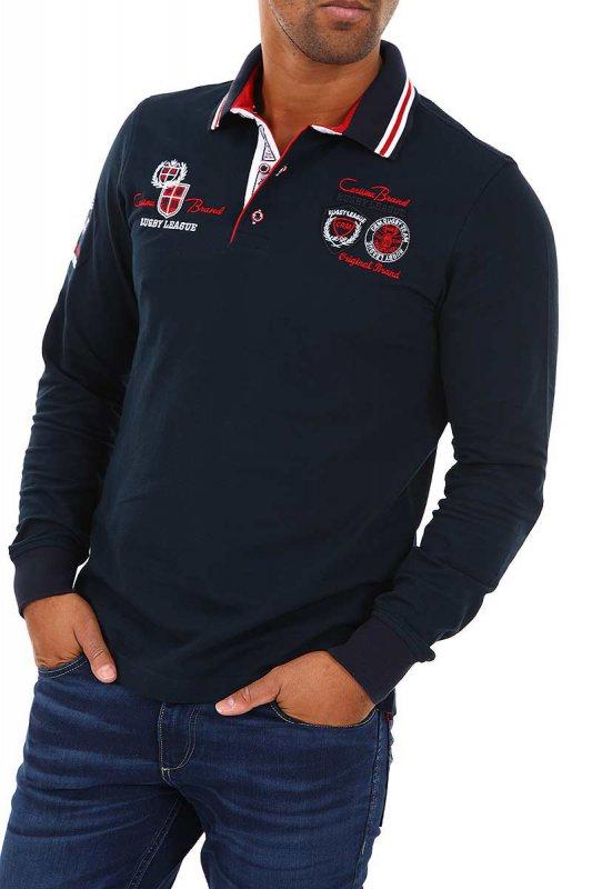 Tricou Polo cu maneci lungi Carisma Bleumarin 3035