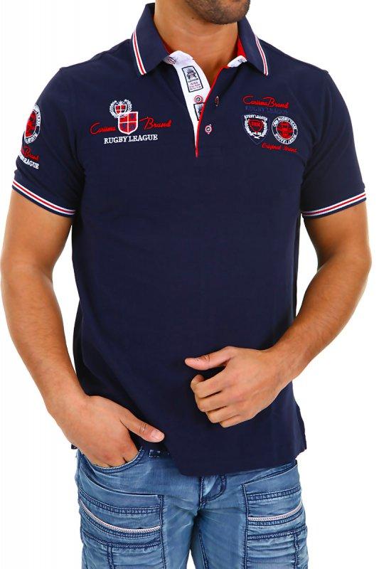 Tricou Polo Barbati Carisma Bleumarin 4011