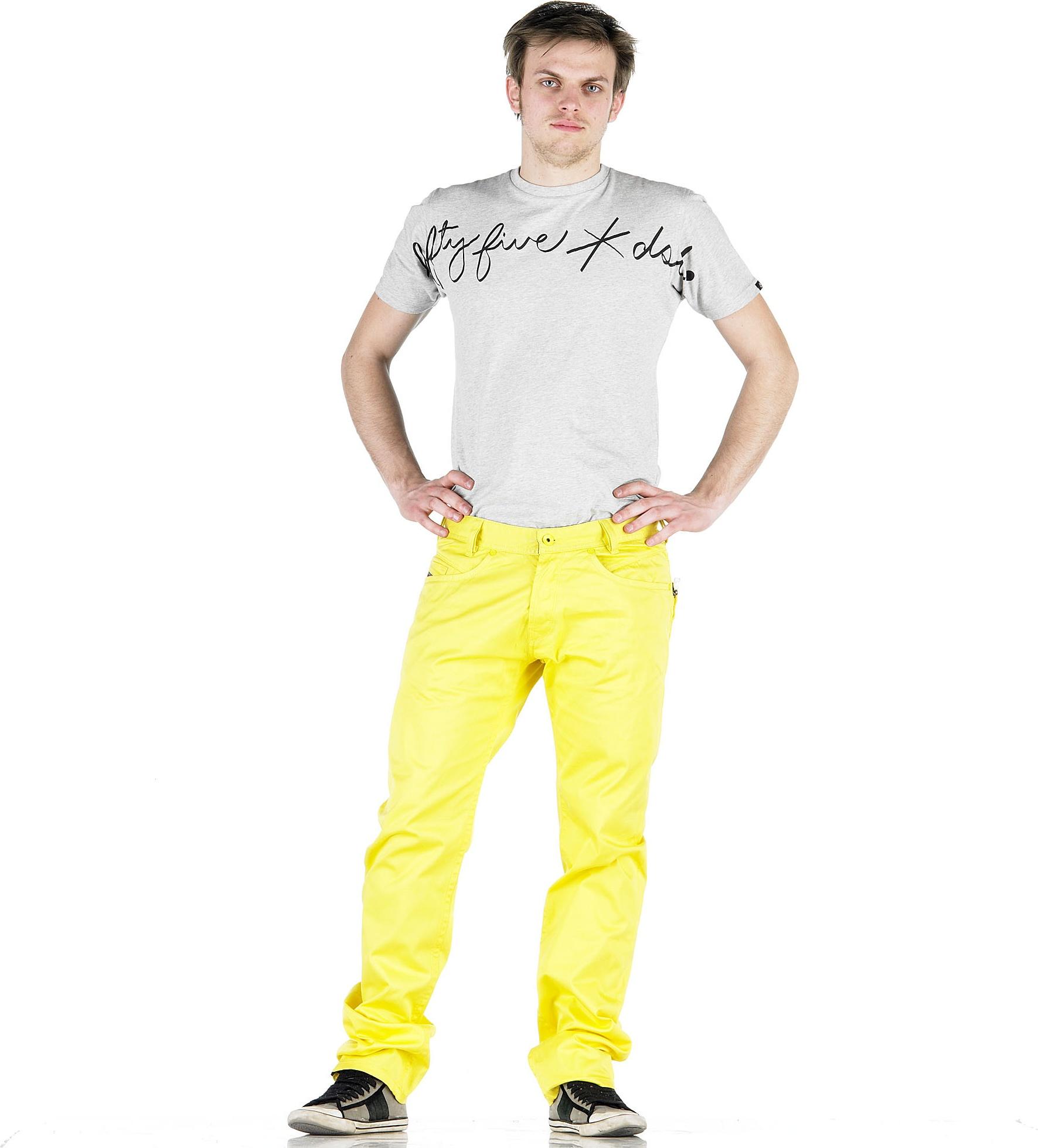 Diesel Pant for men - Yellow.
