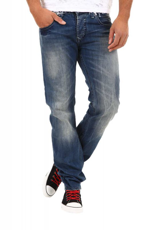 Blugi Denim Republic Jeans Bleumarin 3245-3898