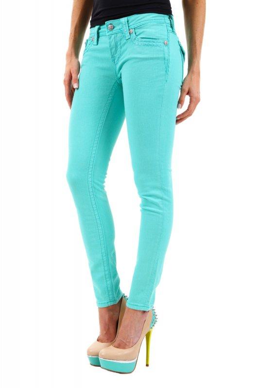 Blugi dama Miss Me Skinny Jeans JS5014AK55 Mint