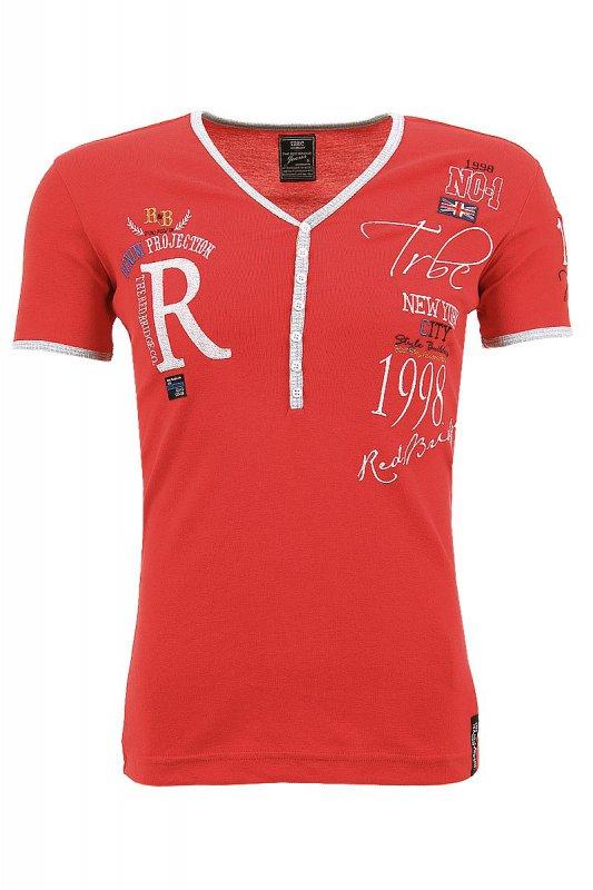 Tricou barbati Redbridge Rosu RB2029