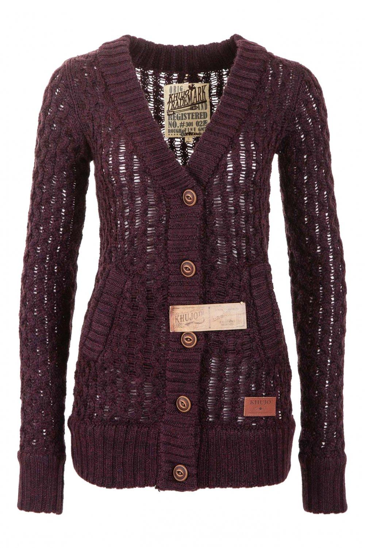 Cardigan Tricotat Dama Khujo Visiniu Wren